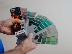 Farbtonkarte
